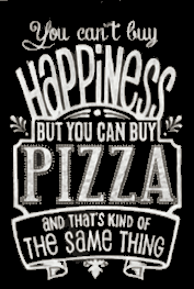 Happiness is Pizza Andiamo Restaurant